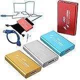 Pink Lizard 5x3cm 1.8inch mSATA to USB 3.0 External Enclosure Converter Adapter SSD Case Box