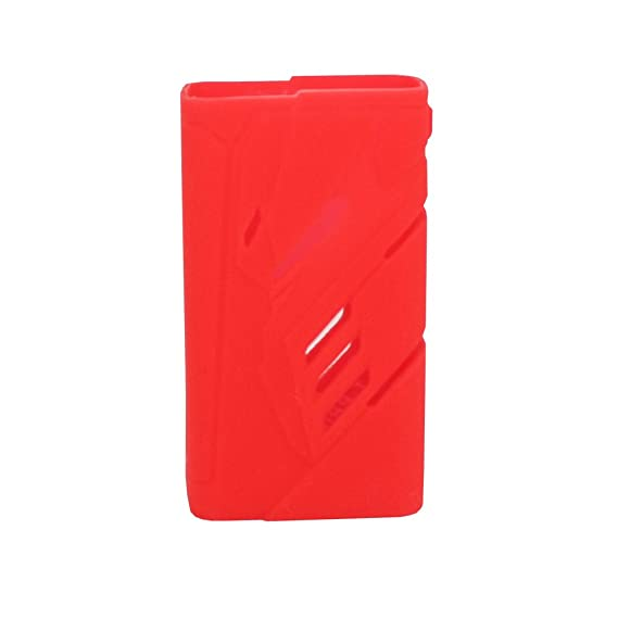 Smok T-Priv 220W Case Protective Silicone Case For Smoktech T-Priv 220W  With 2 Pcs Battery cover (Red)