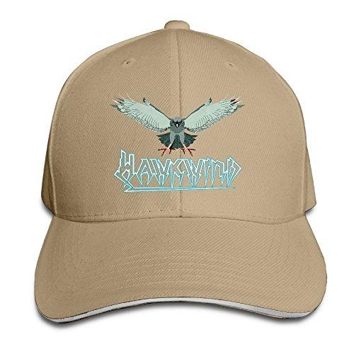 MaNeg English Rock Band Hawkwind Sandwich Peaked Hat & Cap