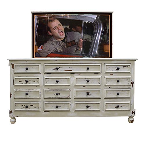 TV Lift - Handcrafted Coventry TV Lift Cabinet (55