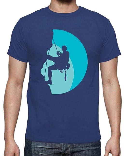 latostadora - Camiseta Escalada para Hombre Azul Royal S: rosarivero_: Amazon.es: Ropa y accesorios