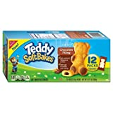 soft bake cookies - Nabisco Teddy Soft Bakes Chocolate Filling Traypack 12.72 oz