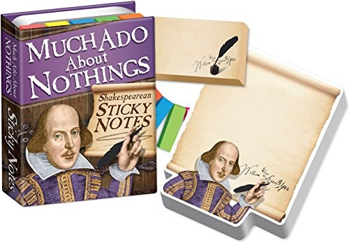 Much ADO About Nothings - Shakespeare Sticky Notes Booklet