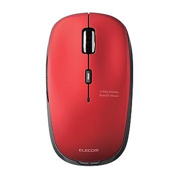 amazon エレコム ワイヤレスマウス 2 4ghz blueled 5ボタン 戻る 進む