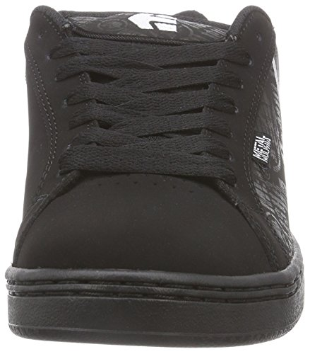 FADER Sneakers METAL Schwarz Herren BLACK BLACK 552 Etnies WHITE MULISHA IS6qSE