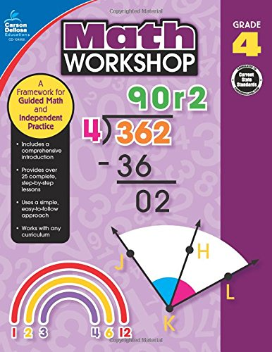 Download Math Workshop, Grade 4: A Framework for Guided Math and Independent Practice pdf