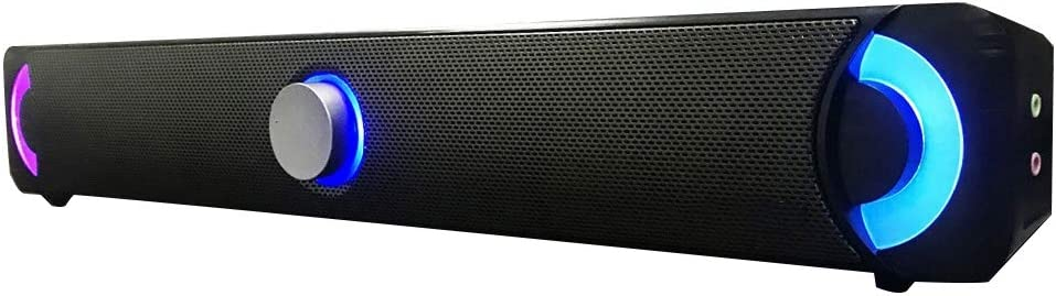 Soundbar Pc Lautsprecher Usb Verdrahteter Bunter Led Elektronik