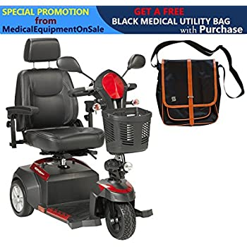 Amazon.com: Drive Ventura Power Scooter de Movilidad, 4 ...