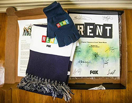 RENT PRESS KIT FOR FOX TV SHOW, COMPLETE WITH EVERYTHING