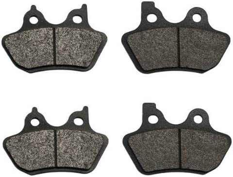 Volar Front /& Rear Brake Pads for 2000-2003 Harley Sportster Hugger XLH 883
