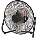 Mainstays 9 Inch High Velocity Wall Mount Floor Fan