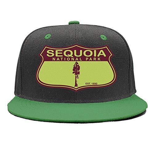 Sequoia National Park Unisex Cotton Pattern Cap Adjustable Mesh Outdoor Hats