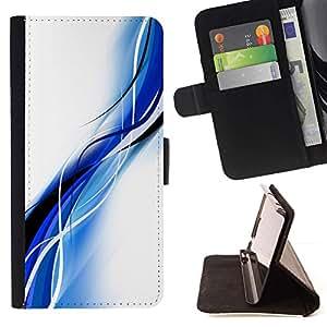 For Samsung Galaxy S5 Mini (Not S5), SM-G800 Case , Negro Blanco Estonia Clean minimalista- la tarjeta de Crédito Slots PU Funda de cuero Monedero caso cubierta de piel