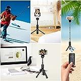 AROVA Selfie Stick Tripod Bluetooth, Extendable