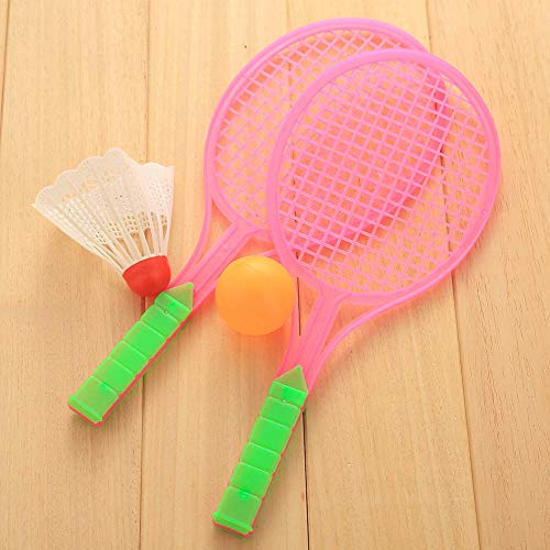Badminton Table Tennis Set Outdoor Sports Family Game Children Boys Toy Rackets ()