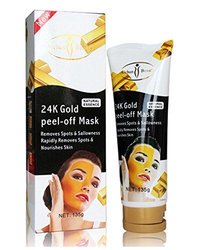 MK aichun 24k gold peel-off mask,Face care facial mask, C...