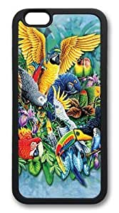 Case For Iphone 5/5S Cover Case and Cover -Birds of the Tropics 2 PC Hard Soft Case Back Cover Case For Iphone 5/5S Cover Black