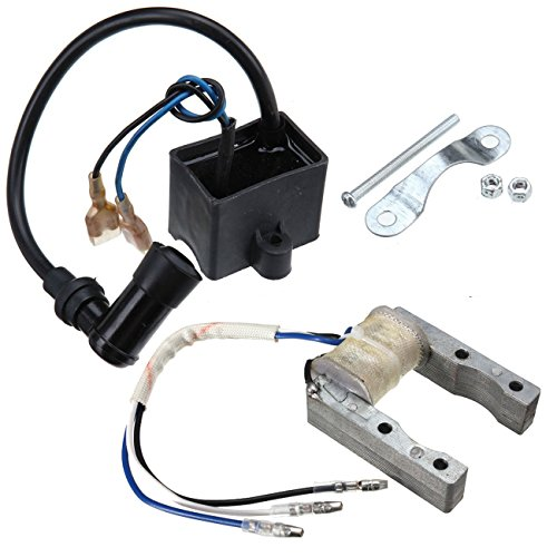 Magneto Stator & Ignition Coil CDI Kit Fits 49cc to 80cc Motorized Bicycle Bike (Ignition Stator)