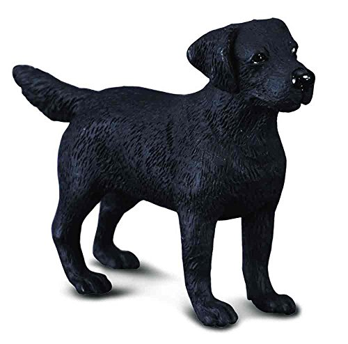 Black Labrador Retriever Figurine - Collecta Labrador Retriever