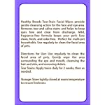 Healthy Breeds Dog Tear Stain & Facial Wipes - Over 200 Breeds - Fragrance Free - 70 Wipes 7