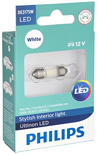 Philips DE3175WLED Ultinon LED Bulb (White), 1 Pack