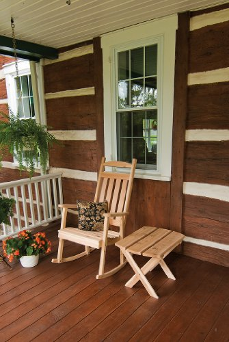 Cedar Classic Front Porch Rocker - *Unfinished* Amish Made USA