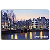 Amsterdam old bridge magnetic refrigerator magnet