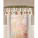 Owl Bathroom Window Valance