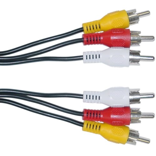 RCA Audio/Video Cable, 3 RCA Mal...