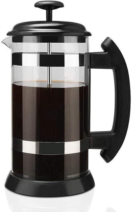 Homie Máquina de café Espresso de 1000 ml Cafetera Tetera de ...