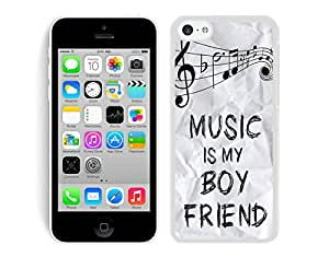 Music Is My Boyfriend iPhone 5C Case White Cover