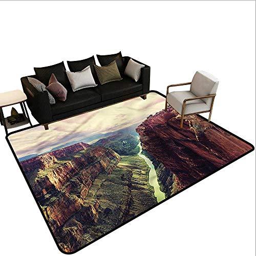 Canyon,Outdoor Kitchen Room Floor Mat 80