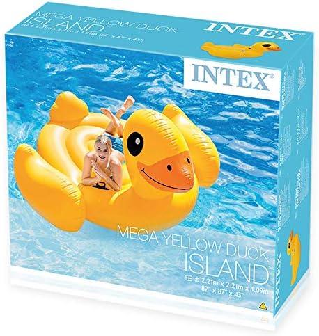 Intex 56286EU - Patito mega hinchable 221X221x122 cm: Amazon.es: Juguetes y juegos