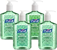 PURELL Advanced Hand Sanitizer Soothing Gel, Fresh scent, with Aloe and Vitamin E , 8 Fl Oz Pump Bottle (Pack