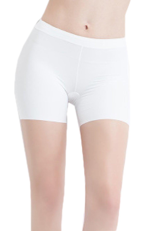 Zinmuwa Women's Short Leggings Body Shaper Shorts Short Panty Hot Pants UKzin18040410-Beige-F