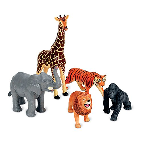 LEARNING RESOURCES JUMBO JUNGLE ANIMALS (Set of 3)