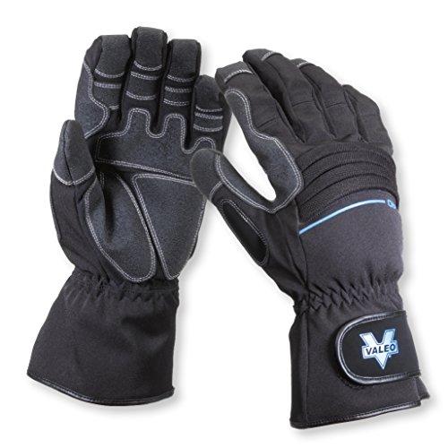 Valeo Industrial V540 Work Pro Waterproof Gauntlet Gloves, VI4887, Pair, Black, XL ()