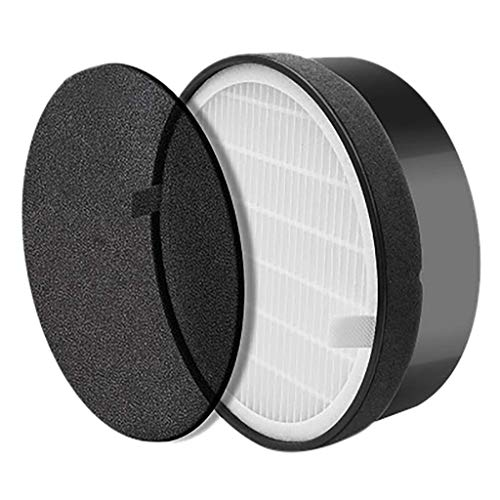 SAQIMA Air Purifier for LEVOIT LV-H132 Replacement HEPA Activated Carbon Filter Fashion,Durable and Portable Spare Parts from SAQIMA Smart Home