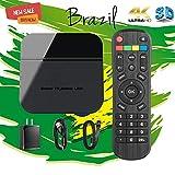 2019 caixa do Brasil, caixa de TV Brasileira 200+ Popular Vivo 4K Canais Brasileiros, maciço filmes, vídeo, Drama