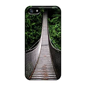 For Iphone 5/5s Protector Cases Jungle Rope Bridge Phone Covers