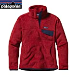 Patagonia Fleece Snap Best Deals - Patagonia Re-Tool Snap- T Raspen Red X- Dye (small)