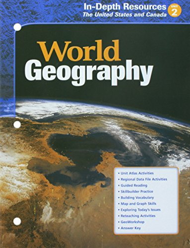 McDougal Littell World Geography: In-Depth Resources Unit 2 Grades 9-12