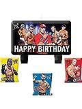 WWE Wrestling Molded Cake Candle Set (4pc)