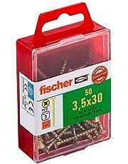 Fischer Power-F 659244 houtbouwschroef Verzonken kop 3,5x30 Gelbverzinkt