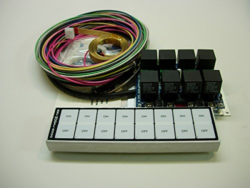 Auto-Rod Controls 8000D 8 Switch In-Dash Control Module by Auto-Rod Controls (Image #1)