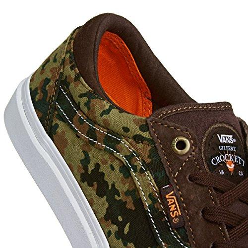 Vans GILBERT CROCKETT PRO Pro Skate camo dark brown, Groesse:43.0