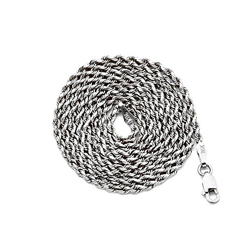 White Gold 2mm Rope - 2