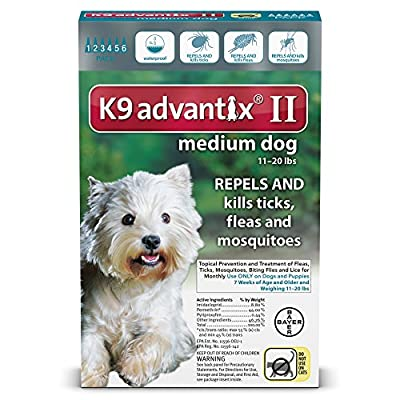 Bayer K9 Advantix II Flea, Tick and Mosquito Prevention