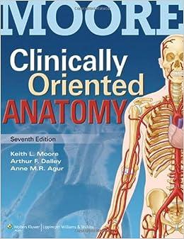 Clinically Oriented Anatomy 9781451119459 Medicine