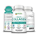 Multi Collagen Protein Capsules - 180 Collagen